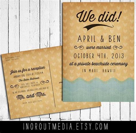 Wedding Announcement Postcards by Wedding Announcement Wedding Announcements The