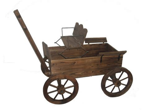 wooden wagon planter wooden wagon planters flickr photo