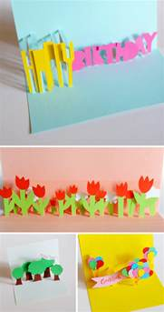 how to make pop up birthday cards for diy pop up cards