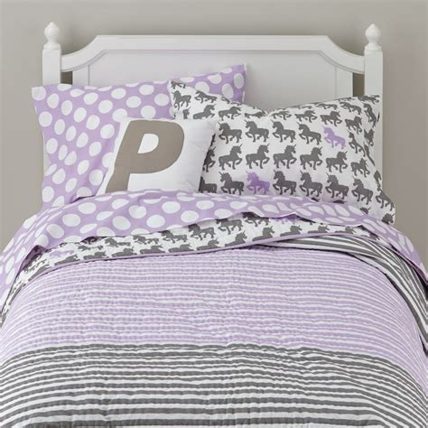 unicorn bedding girls bedding sheets duvets pillows the land of nod