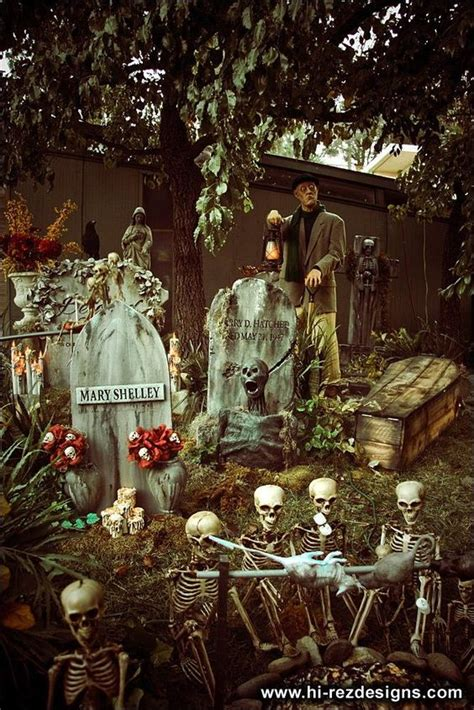 yard haunt decorating ideas yard haunt inspiration and on