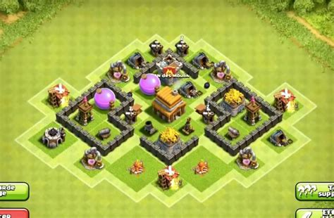 layout editor coc th 4 8 epic town hall 4 war base layouts farming base layouts