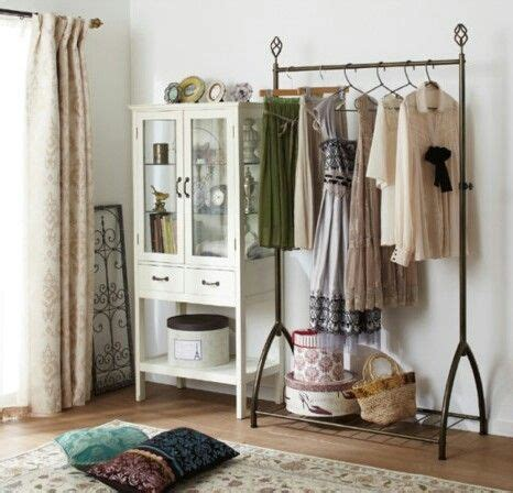 shelves for clothes in bedroom rack para organizar ropa closet armario pinterest