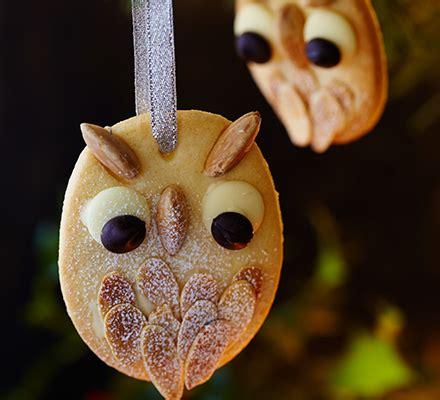 Dihani Snack Vegan Handmade Biscuits snowy owl tree biscuits food