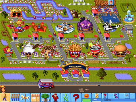 themes download games theme park world download free full game speed new