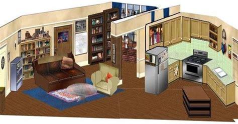 the big bang theory apartment papermau the big bang theory sheldon and leonard s