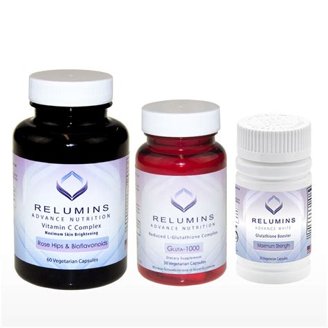 Gluta Vit relumins premium collagen blend 10 sachets and relumins