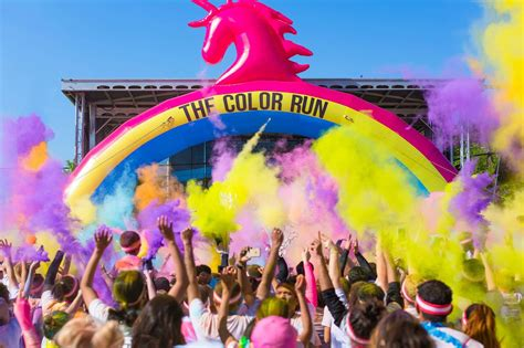 what is the color run this weekend in bucharest color run tour 2017