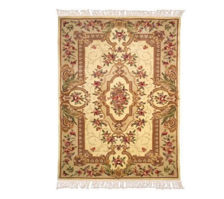 royal palace regal estate 8 x 11 wool handmade rug qvc