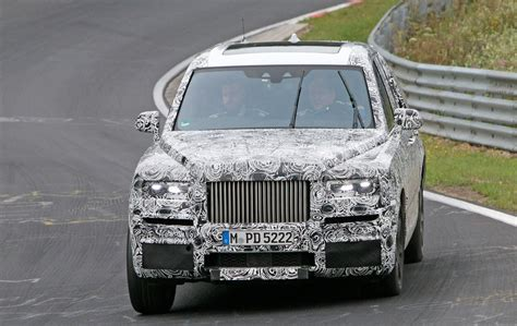 rolls royce suv rolls royce cullinan suv closest look yet by car magazine