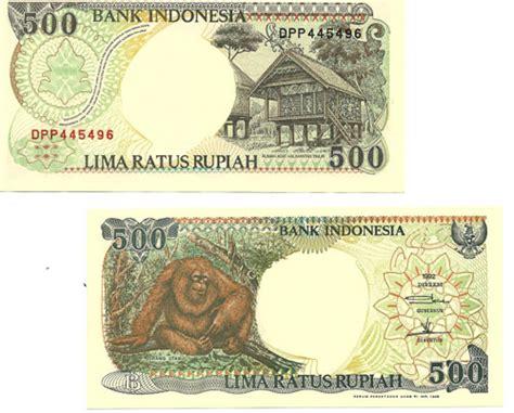 500 Rupiah Orang Utan 1992 Murah monete banconote indonesia 500 rupiah 1992 orang utan