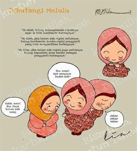 Kaos Religi Islamic Quote 1 Tx 17 best images about kartun muslim on we