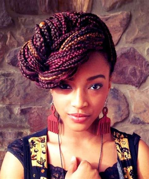 fashionable braided hairstyles for black hair 50 best black braided hairstyles for black 2018