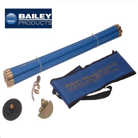 Chimney Flue Brush Set - bailey chimney flue and drain sweeping brush set rods