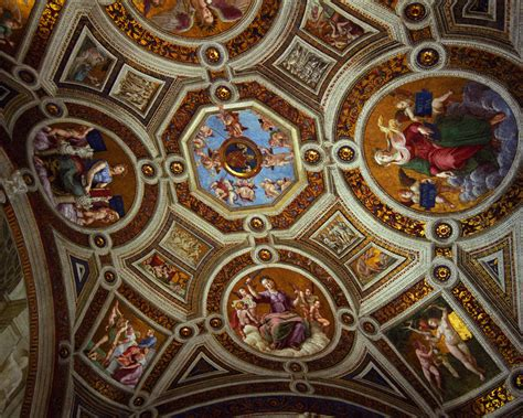ceiling of the sistine chapel travel wallpaper and stock