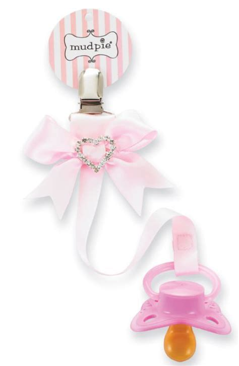Casandra 4in1 rhinestone pacifier clip minnies