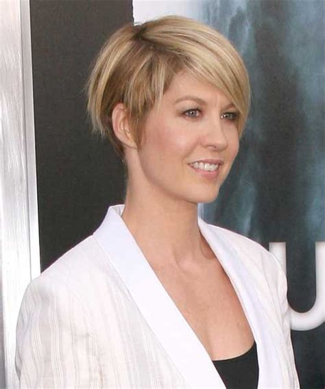 pictures of the back of jenna elfman hair 15 short hairstyles for fine straight hair http www