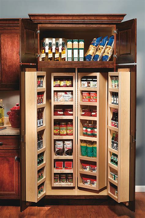 Tall Swing Out Pantry Cabinet   Decora Cabinetry