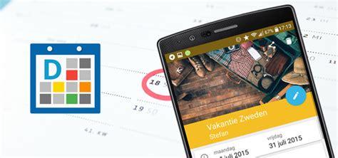 kalender app design digical agenda update geeft kalender app strak material design