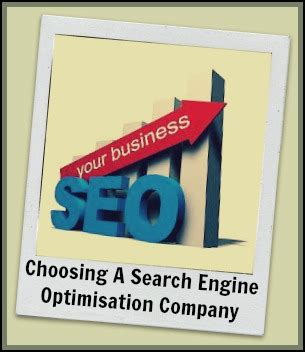 Search Engine Optimisation Firm by Choosing A Search Engine Optimisation Find One That Will