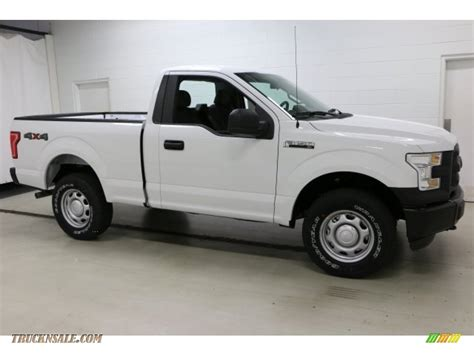 2016 white ford f150 2016 ford f150 xl regular cab 4x4 in oxford white b69446