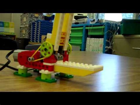 tutorial lego single car garage lego wedo robotics tutorial 1 youtube