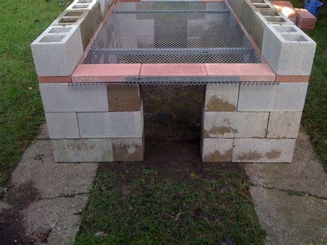 diy pit concrete block how to build a bbq pit home design garden