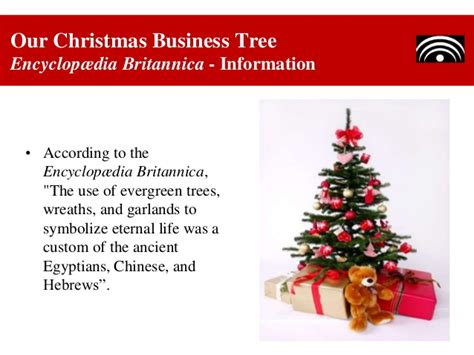 our christmas business tree dealing with diversity at