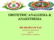 Obstetrics For Anaesthetists obstetrics authorstream