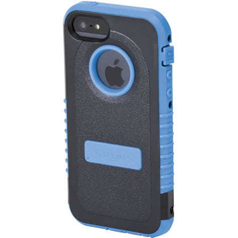 targus safeport rugged max for iphone 5 blue tfd00202us