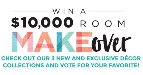 Home Makeover Sweepstakes 2017 - michael s room makeover sweepstakes 2017 michaels com makeover