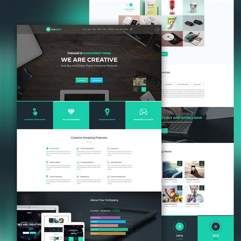 Creative Landing Page Template Free Psd Download Download Psd Create Free Landing Page Templates