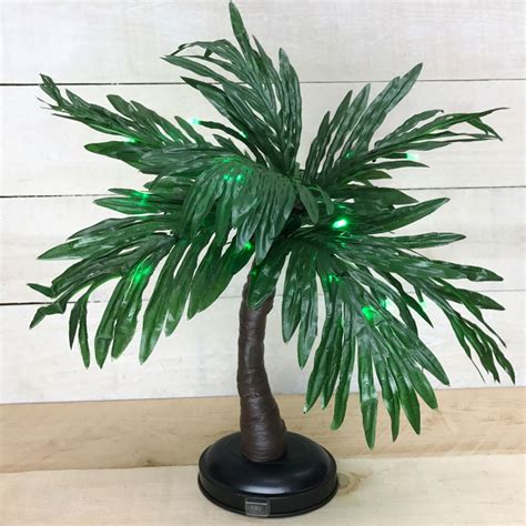 pre lit tree battery operated pre lit green led palm tree battery operated