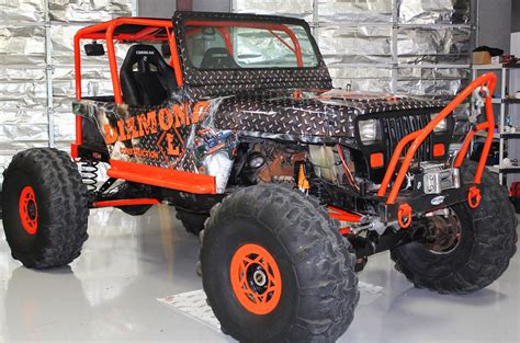 jeep yj rock crawler rock crawler jeep wrap dfw zilla wraps