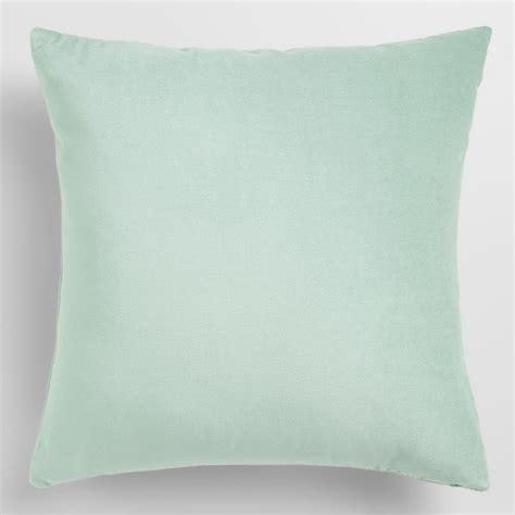 Throw Pillow Blue by Blue Velvet Throw Pillow World Market