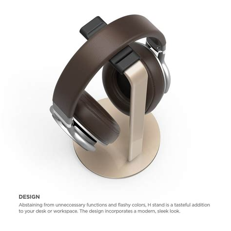 Elago H Stand for Gaming and Audio Headphones (Champagne Gold) Price ? Dice.bg