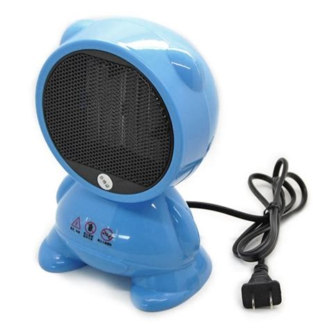 portable room space desk electric heater mini fan forced