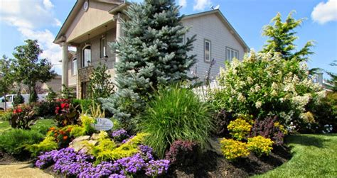 front yard landscaping house long island ny
