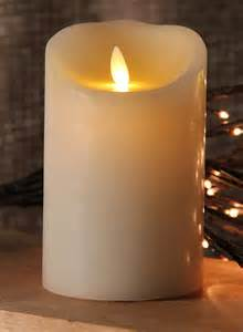 Battery Candles Moving Ivory Candle Battery Operated 3 5 X 5 Timer