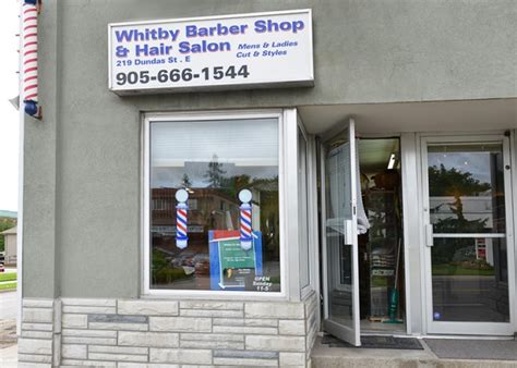 whitby barber shop whitby business story