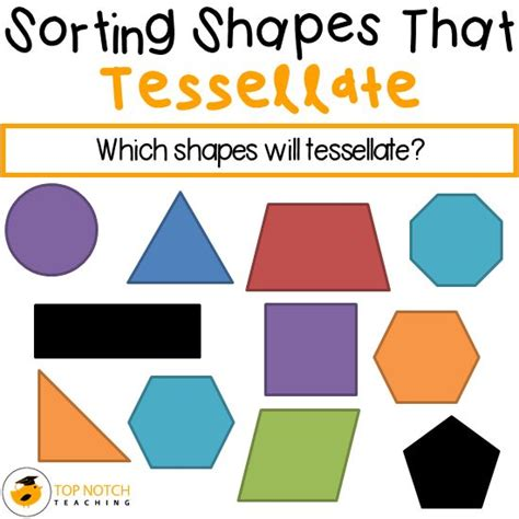 tessellating shapes templates finding shapes that tessellate patterns to colour