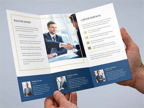 30 Business Brochure Templates Free Premium Templates Small Brochure Template