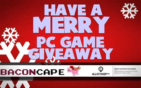 Pc Gamer Giveaway - pc game of your choice giveaway bc gb baconcape