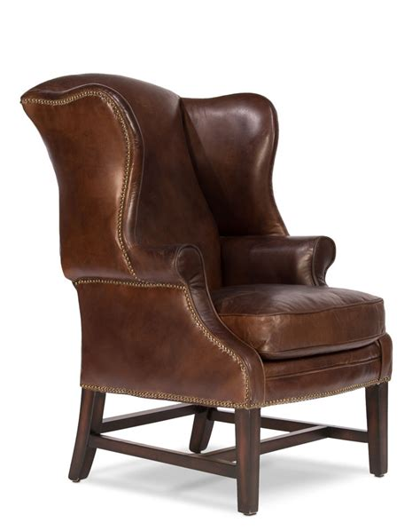 leather cigar chair 27 quot w arm club chair vintage cigar brown soft leather jute