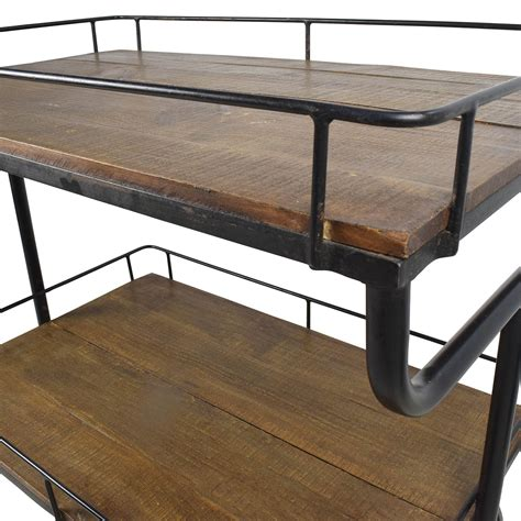 Restoration Hardware Bistro Table 80 Restoration Hardware Restoration Hardware Warehouse Trolly Bar Cart Tables