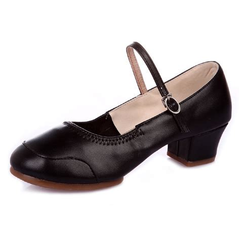 Dancing Shoes For Woman Ladies Four Season Roune Toe
