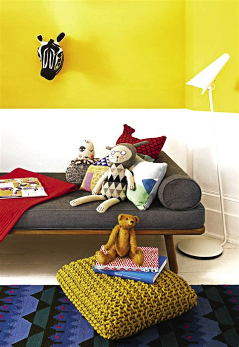 color lover yellow in decor children s sunshine and bedrooms kids rooms decorating with yellow handmade charlotte