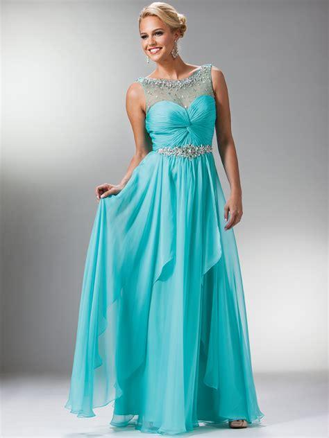 Sheer Drape Lace Top Amp Stone Trim Prom Dress Sung Boutique L A