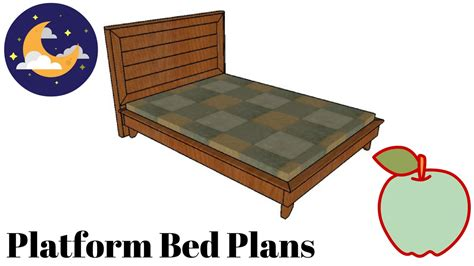 how to build platform bed frame how to build a platform bed frame