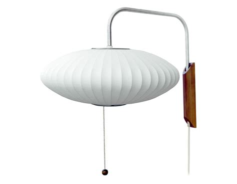 modernica george nelson saucer l bubble l sconce saucer hivemodern com